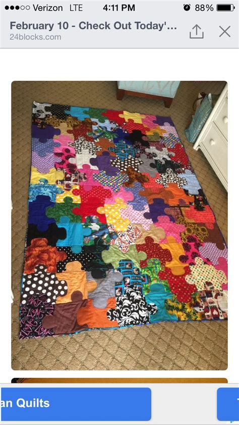 pieces by polly jigsaw puzzle baby quilt free pattern puzzle quilt ideas pinterest puzzles