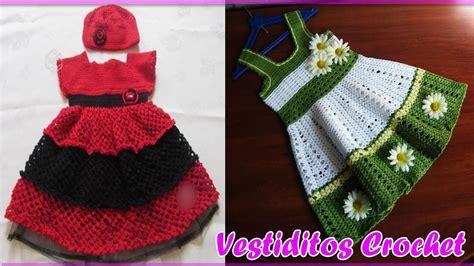 imagenes y patrones de vestidos tejidos para nias vestidos para bebe ni 241 a con patrones tejidos a crochet
