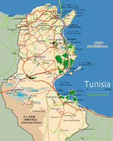 Tunisia On World Map by Map Of Tunisia Pictures To Pin On Pinterest