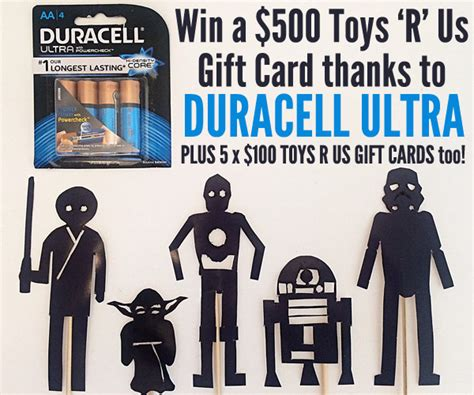Duracell Giveaway - star wars activity ideas shadow puppets printable childhood101