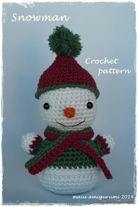 amigurumi snowman pattern free amigurumi snowman crochet patterns slugom for