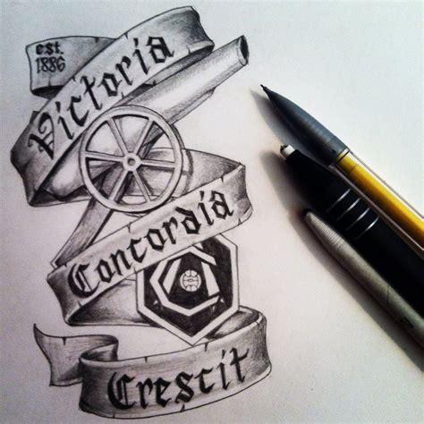 arsenal tattoos designs 17 best ideas about arsenal on arsenal