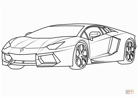 lamborghini veneno sketch 20 best free lamborghini outline home of coloring