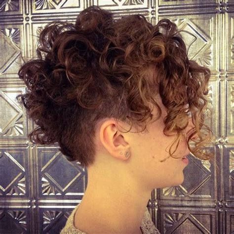 hairstyles for curly hair undercut pixie undercut for straight and curly hair