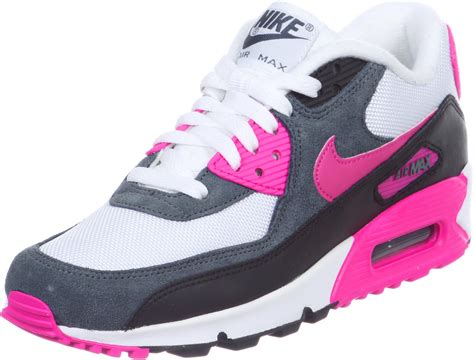 Nike Airmax Pink nike air max 90 w shoes white pink grey
