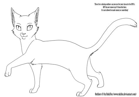 cat drawing template cat template by rukifox on deviantart