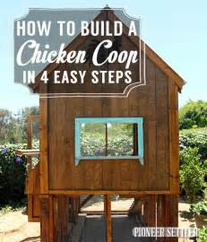ruck zuck treppe how to build a chicken coop in 4 easy steps