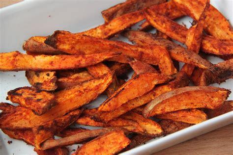 oven baked sweet potato fries recipe dishmaps