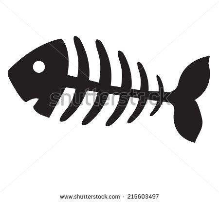 Fish Bones Stock Photos Images Pictures Shutterstock Fishbone Graphics