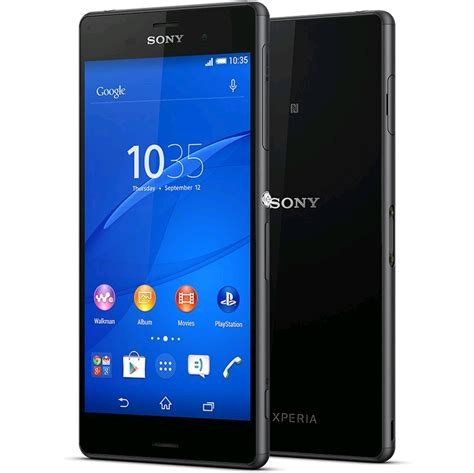 Hp Sony Z3 D6653 sony xperia z3 d6653 unlocked lte 16gb black