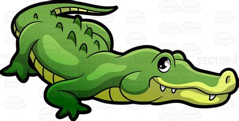 crocodile clipart a crocodile at the zoo clipart