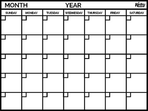 Calendar Monthly Monthly Calendar Yearly Calendar Template