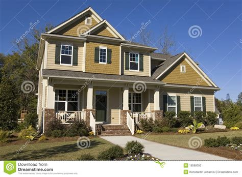 new house for sale new suburban house for sale stock photos image 16599393