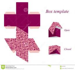 Cube Box Template by Cube Box With Lid Template Www Imgkid The Image