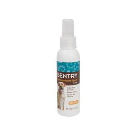 cortisone for dogs sentry hydrocortisone spray for dogs 4 oz vetdepot