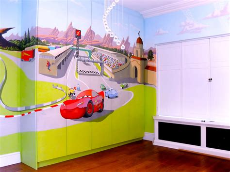 pixar bedroom pixar s cars mural for quot baby spice quot