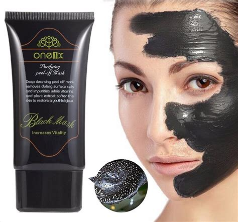 One1x Purifying Peel Mask Black Mask 1 activated carbon reviews shopping