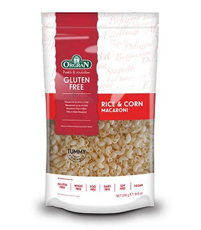 Orgran Rice And Corn Macaroni rice corn macaroni orgran
