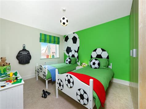 Interior Design For Bed Football Themed Boys Bedroom Football Bedroom Decor