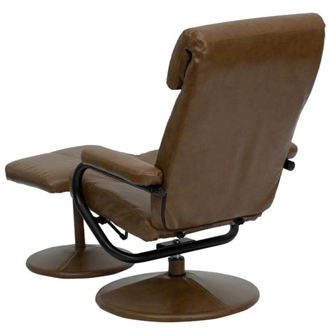leather recliners with ottoman leather leather recliner and ottoman in palimino brown