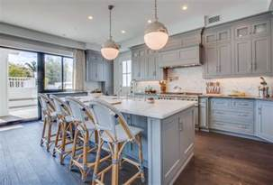 Blue Grey Kitchen Cabinets Kitchen Cabinetry Blue Gray Color Home Ideas