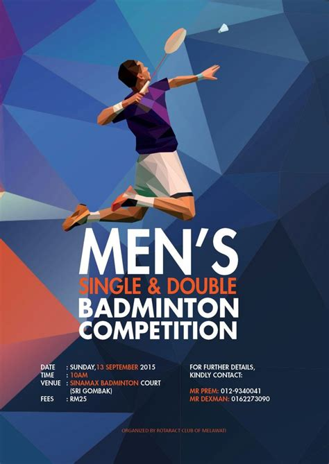 design banner badminton 17 best images about badminton and other sports on