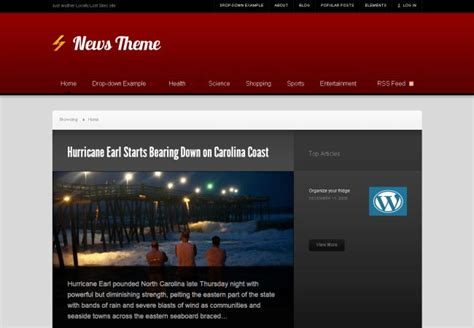 themes slideshow wordpress premium free wordpress themes news slideshow and feature