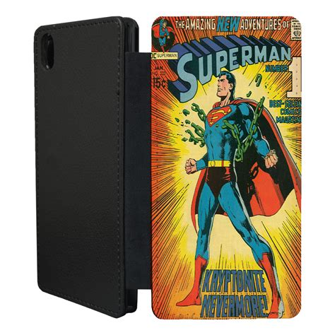 Flip Cover Experia Z2 dc marvel comic book flip cover for sony xperia z z1