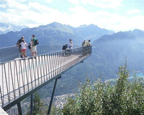 terrazza panoramica viaggio in svizzera con famiglia tanti mezzi pubblici e