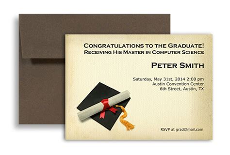 Mba Graduation Announcements Cards by 2018 Graduate Phd Mba Master Printable Graduation