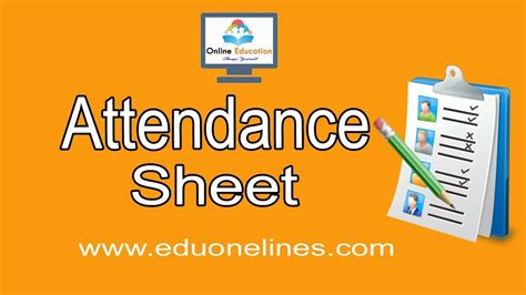 how to make your how to create an attendance sheet in excel 2016