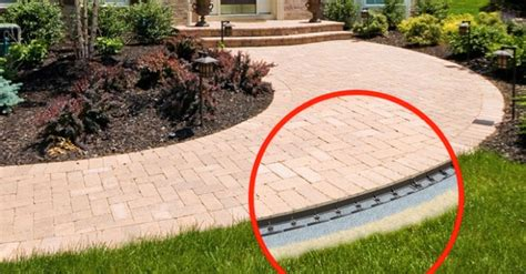 paver patio edging options edging for patio stones icamblog