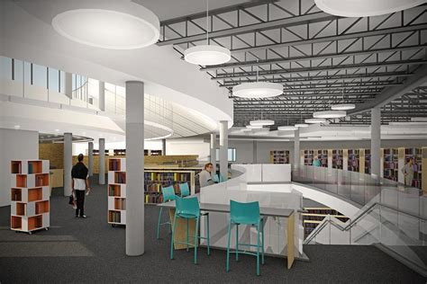 Interior Of Library by A Sneak Peek At The Inside Of The New Peterborough Library News Community