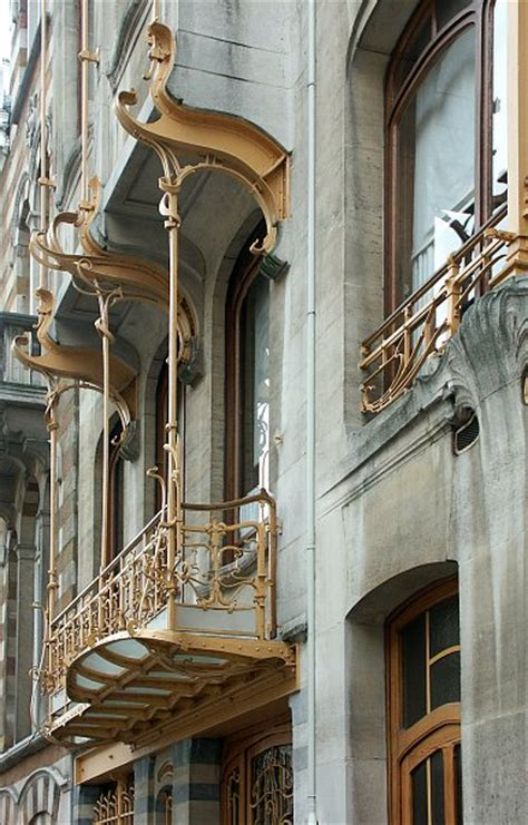 art deco balcony victor horta residence art nouveau balcony from timber