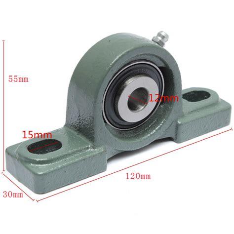 Pillow Block Bearing Ucp 201 12mm Nkk 12mm bore diameter zinc alloy pillow block mounted bearing ucp201 alex nld