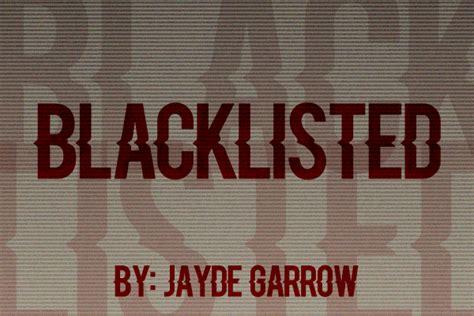 Dafont Blacklisted   blacklisted font dafont com