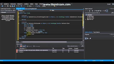 tutorial vb net 2013 pdf how to create simple calculator on vb net 2013