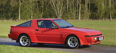 Vintage Views Mitsubishi Starion Esi R And Chrysler
