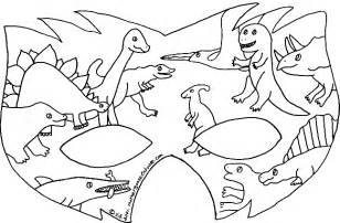 Dinosaur Mask Colouring Coloring Pages  FunyLoolcom sketch template