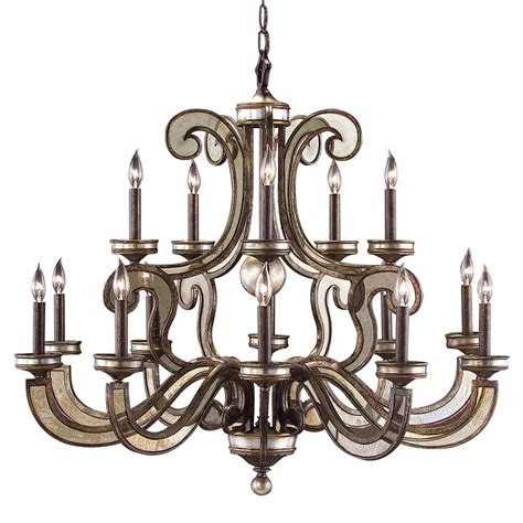 Modern Classic Chandelier Modern Classic Antique Bronze Mirror Curved Arm