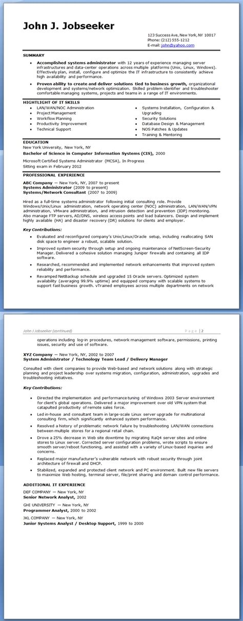 pretentious solaris administration sample resume homey inspiration