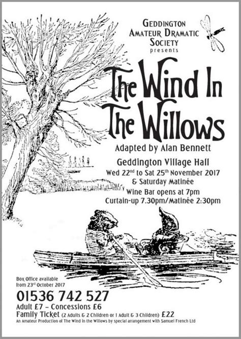 Wind in the Willows – Geddington.net