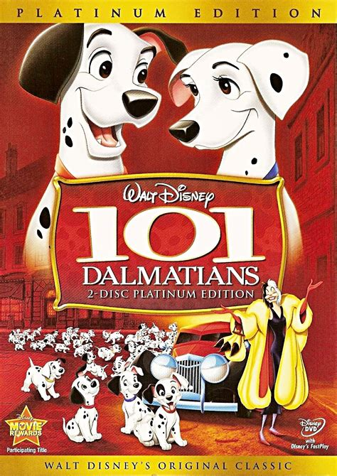 Disney S 101 Dalmatians 101 dalmatians two disc platinum edition disney dvd