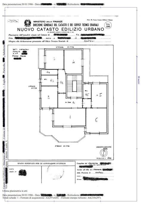 planimetria di un appartamento perch 233 la planimetria catastale va allegata al rogito