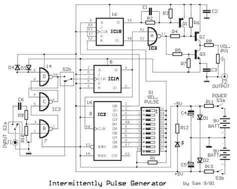 gt circuits gt alternating square pulse generator l32958