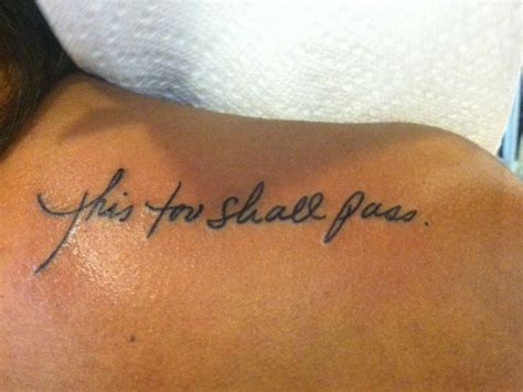 small font tattoos small quote tattoomagz