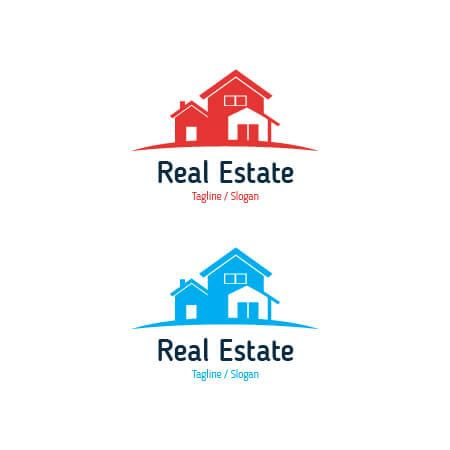 free vector real estate logo template for your company