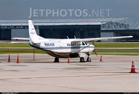 n864sf cessna 208b grand caravan suburban air freight hans grubb jetphotos