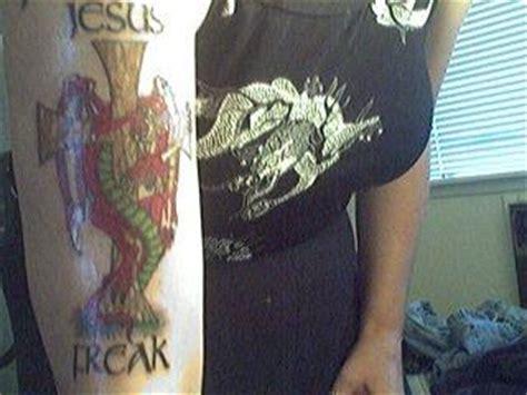 tattoo jesus freak dragon jesus freak tattoo picture