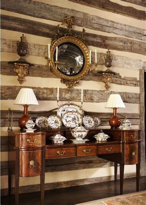 dining room buffet cabinet designs elegant log home elegant cabin living room with federal style convex mirror